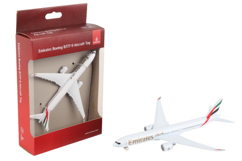 Emirates Diecast Plane RT9905