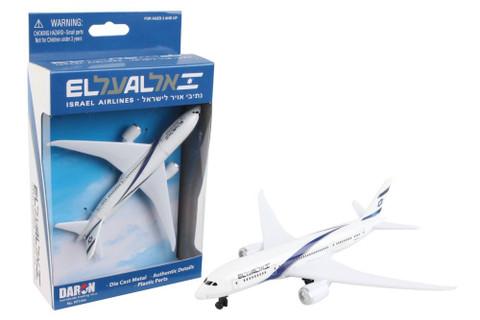 ELAL Diecast Plane RT1444