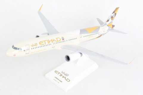 Skymarks Etihad Airbus A321 with gear Scale 1/150 SKR1071