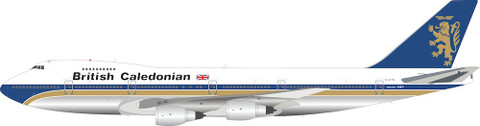 Inflight 200 British Caledonian Airways Boeing 747-200 G-GLYN with stand Scale 1/200 IF742BR0621P
