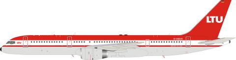 Inflight 200  LTU Lufttransport-Unternehmen Boeing 757-200 D-AMUG with stand Scale 1/200 IF752LT0521