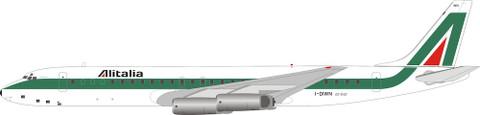 Inflight 200 Alitalia Douglas DC8-62H I-DIWN with stand Scale 1/200 IF862AZ0620