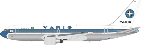 Inflight 200 Varig Boeing 767-200ER PP-VNN with stand Scale 1/200 IF762RG0521P