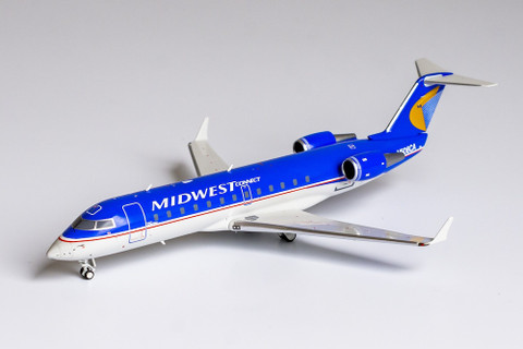 NG Models Midwest Connect CRJ200ER N506CA Scale 1/200 NG52041