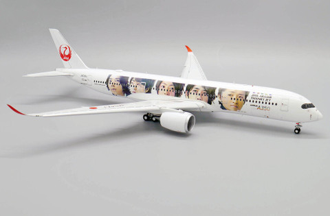 JC Wings JAL Japan Airlines Special Livery Airbus A350-900 Flap Down JA04XJ Scale 1/200 JCEW2359005A