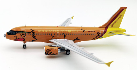 WB Models Germanwings BEARBUS livery Airbus A319-112  D-AKNO with stand Scale 1/200 WBIN319021