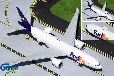 Gemini 200 FEDEX Boeing 777-200 N888FD Scale 1/200 G2FDX951