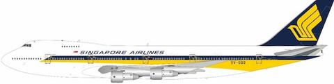 WB Models Singapore Airlines Boeing 747-200B 9V-SQQ stand Scale 1/200 WB7472025