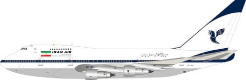 Inflight 200 Iran Air Boeing 747SP EP-IAD Scale 1/200 IF747SPIR0720