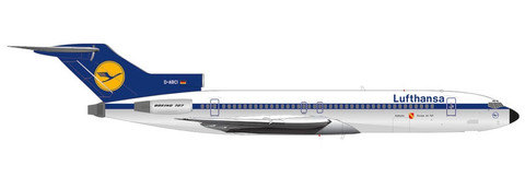 Herpa Wings Lufthansa 50th Anni. of 727-200 int Karlsru Boeing 727-200 Scale 1/200 571326