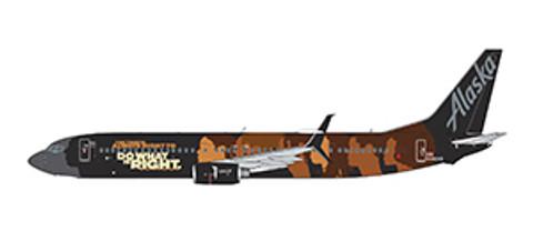 Gemini 200 Alaska Our Commitment Boeing 737-900ER N500WR Scale 1/200 G2ASA1016