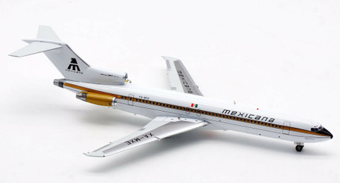 Inflight 200 Mexicana Boeing 727-200 XA-MXE with stand Scale 1/200 IF722MX0921