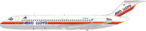 Inflight 200 Aero Lloyd DC-9 Series 32 D-ALLA Scale 1/200 IFDC9YP0921