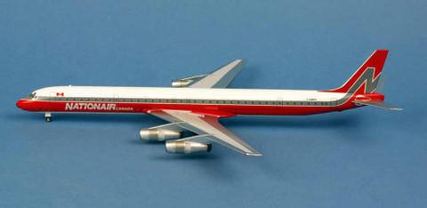 Aeroclassics Nationair Douglas DC8/61 C-GMXD Scale 1/200 AC219911