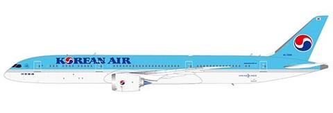 JC Wings Korean Air Boeing 787-9 Dreamliner HL7206 Scale 1/200 JCEW2789004