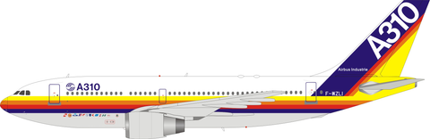 Inflight 200 House colours Airbus A310-304 F-WZLI with stand Scale 1/200 IF310HOUSE