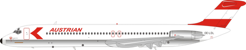 Inflight 200 Austrian Airlines DC-9 Series 51 OE-LDL with stand Scale 1/200 IF951OE1221