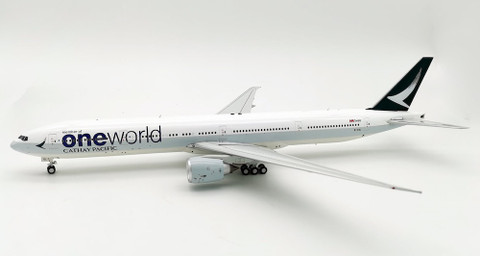 WB models Cathay Pacific One World Boeing 777-367ER B-KQL Scale 1/200 WB7773018