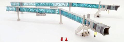 JC Wings Airport Passenger Bridge Boeing 737 Blue Scale 1/200 JCLH2282