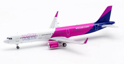 Inflight 200 Wizz Air Airbus A321 HA-LXN with stand Scale 1/200 IF321W60719