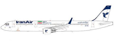 JC Wings Iran Air Airbus A321 EP-IFA with Stand Scale 1/200 JCLH2246