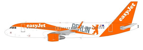 WB Models Easyjet Airbus A320-200 OE-IZQ with stand Scale 1/200 WB320IZQ