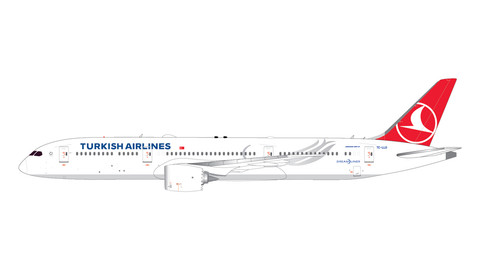 Gemini Jets Turkish Airlines Boeing 787-9 Dreamliner TC-LLO Scale 1/400 GJTHY2018