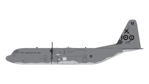 Gemini 200 Royal Australia Air Force Lockheed C-130J Hercules Scale 1/200 G2RAA993