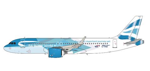 ARD/AC British Airways Airbus A320neo Scale 1/400 ACGTTNA