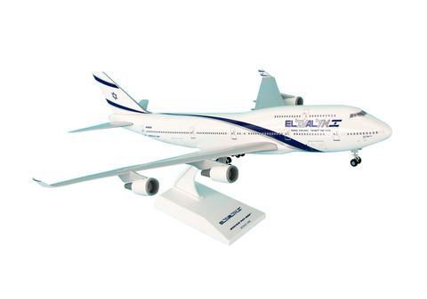 Skymarks ELAL Boeing 747-400 With Gear Scale 1/200 SKR488