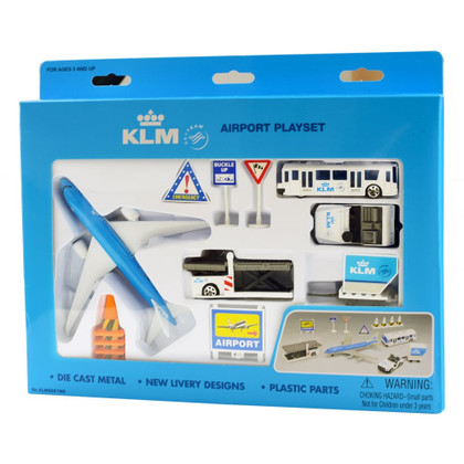 KLM Royal Dutch Toy Airport Playset Age 3+ PP-KLM6261