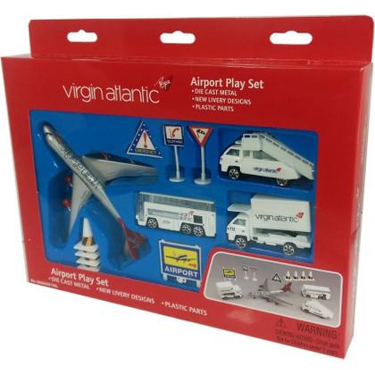 Virgin Toy Airport Playset Age 3+ PP-VAA6261