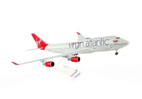 Skymarks Virgin Boeing 747- 400 with Gear Scales 1/200 SKR672