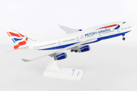 Skymarks British Airways Boeing 747 with gear Scale 1/200 SKR304