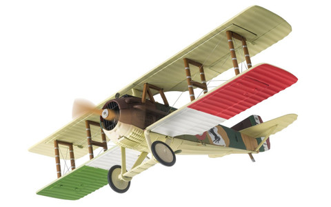 Corgi SPAD XIII S2445 Major Francesco Baracca 91st Squadriglia Italian Air Force July 1918 Scale 1/48