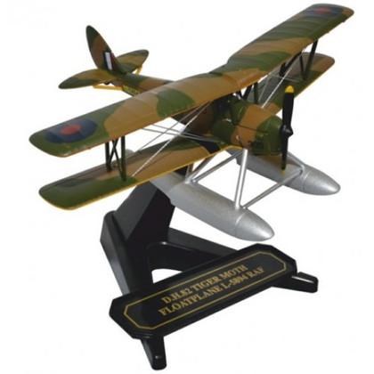 Oxford Diecast DH82 Tiger Moth Float Plane RAF L-5894 Scale 1/72