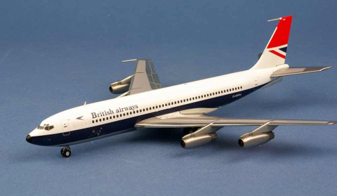 Herpa British Airways Boeing 707-400 G ARRA (Metal model) Scale 1/200