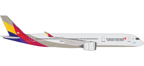 Herpa Asiana Airlines Airbus A350-900 XWB - HL8078 Scale 1/500