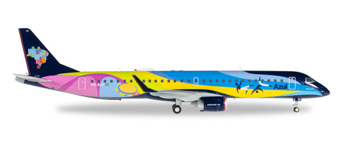 Herpa Wings Azul Brazilian Airlines Embraer E195 1/200 557771