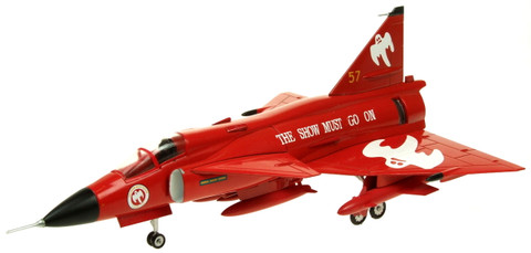 Aviation 72 SAAB Viggen AJS37 F10-57 Flygvapnet 'The Show Must Go On' Scale 1/72 AV7242006
