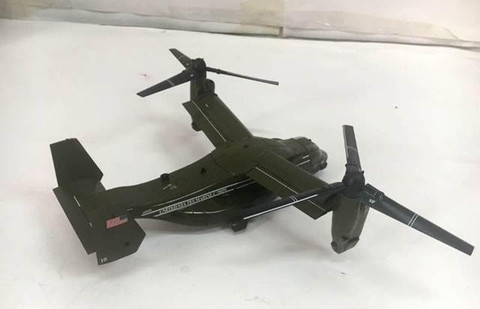 AIR FORCE PRESIDENTIAL OSPREY USMC V-22 SCALE 1/72
