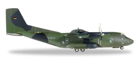 "Herpa Wings Luftwaffe Transall C-160 - LTG 63 ""50+83"" (metal) Scale 1/200"
