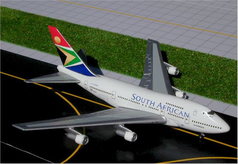 Gemini Jets South African Boeing 747SP Scale 1/400 GJSAA036