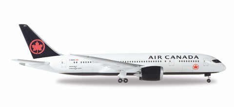 Herpa Air Canada Boeing 787-8 Dreamliner new colors 2018 C-GHPQ  Scale 1/500
