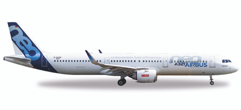 Herpa Airbus A321neo - D-AVXB Scale 1/500
