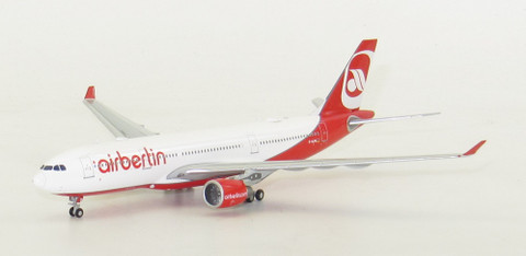 JC WINGS AIR BERLIN AIRBUS A330-200 REG: D-ALPA WITH ANTENNA SCALE 1/400 JC4023