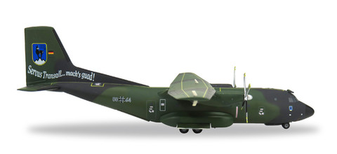 "Herpa Air Force Transall C-160 - LTG 61 / Air Transport Wing 61 ""FlyOut Penzing"" - 5064 Scale 1/200 558860"