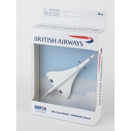 BRITISH AIRWAYS CONCORDE TOY DIECAST AIRLINER
