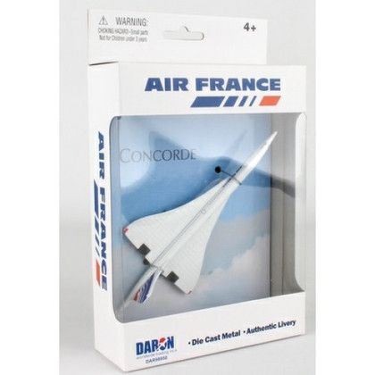 Air France Concorde toy diecast aircraft