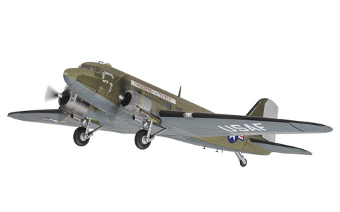 Corgi Douglas C-47A Skytrain™ 315208 'Fassberg Flyer', US Air Force, Berlin Airlift Scale 1/72 AA38209
